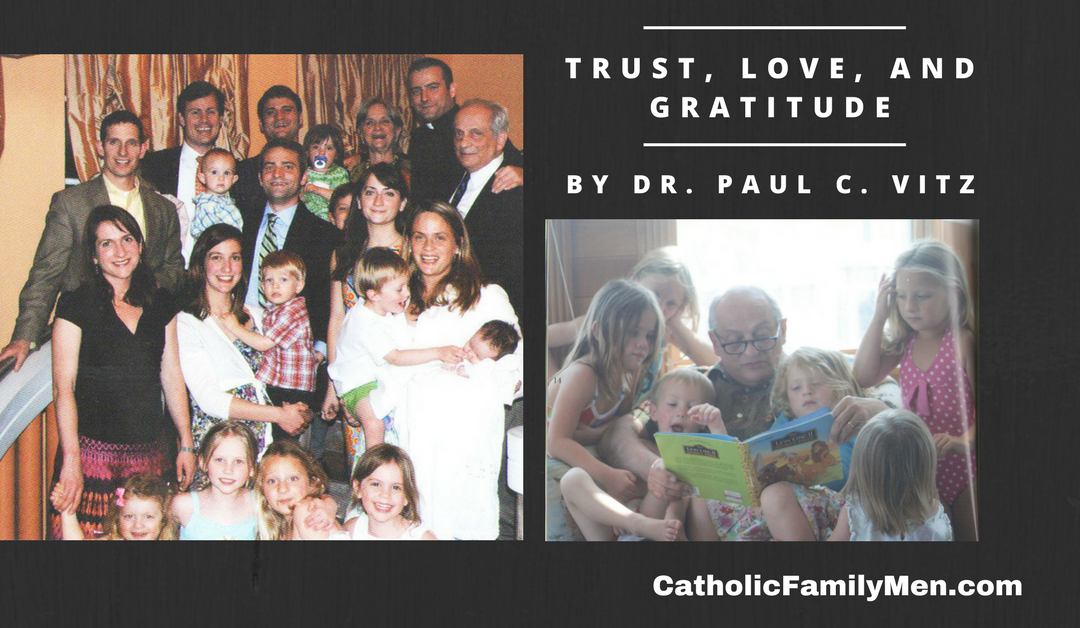 My #1 Lesson for Husbands and Fathers in Christ: Trust, Love, and Gratitude